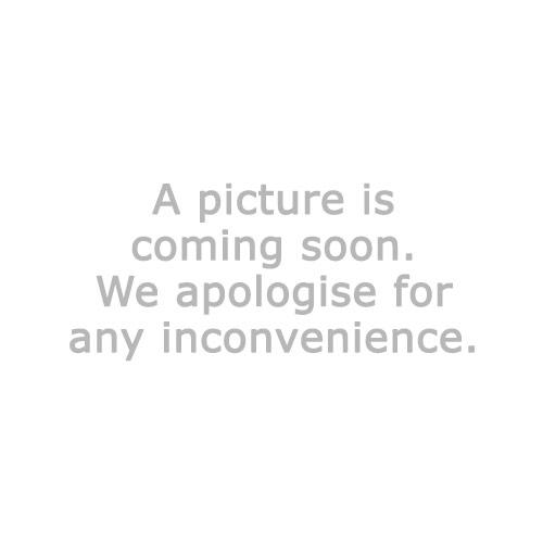 Pläd HVITKURLE 130x180 melerad vit/grå