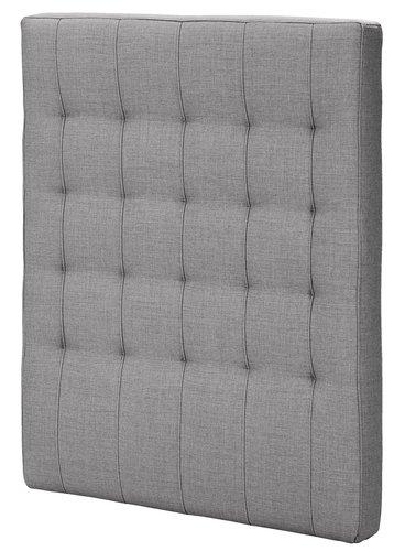 Sengegavl H50 STITCHED 90x125 grå-20
