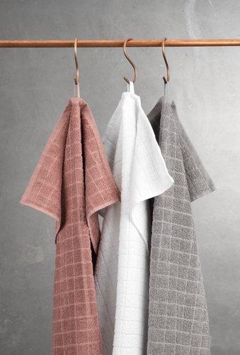 Bath towel KARBY white