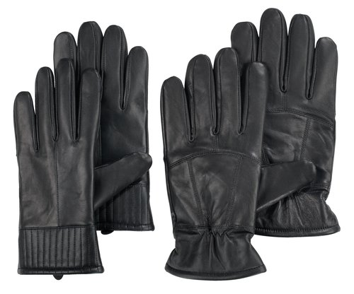 Leather gloves TRIAL unisex ass.