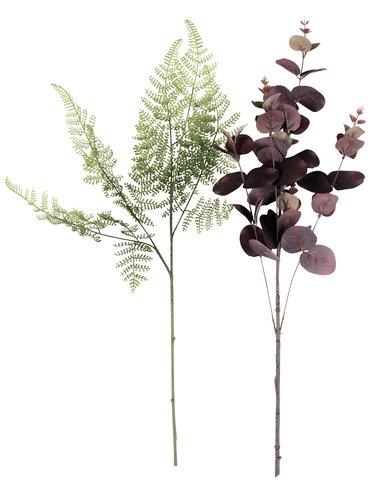Kunstig blomst CLEMME H55cm ass.