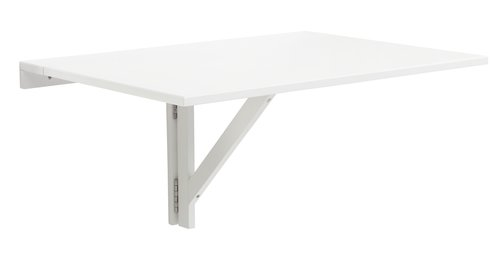 Wall folding table NORDBY 60x80 white