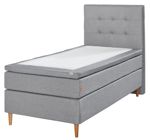 Boxspring 90x200 GOLD C35 traagschuim