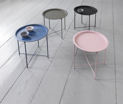 Sohvapöytä RANDERUP Ø47 sininen