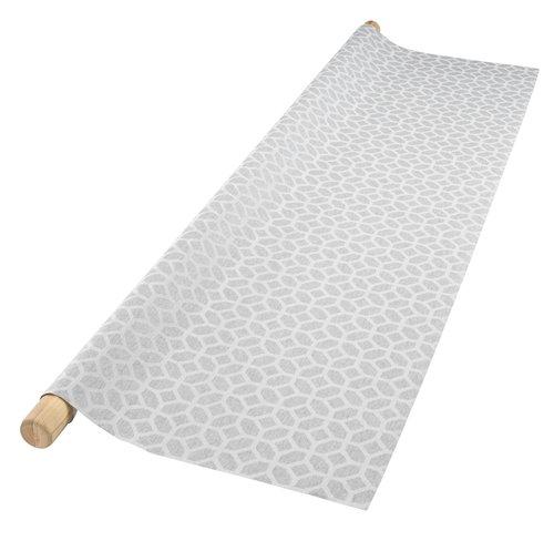 Tekstilvoksduk SVARTOR B135 grå