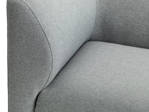 Sofa m/sjeselong KARE høyre lys grå