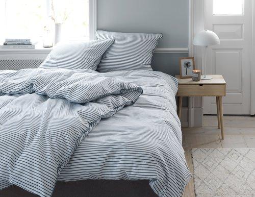 Lenjerie pat+cearsaf VIDA dublă