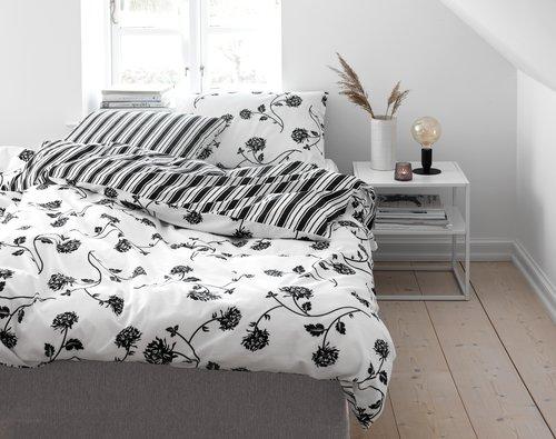 Lenjerie pat+cearsaf MATHILDE dublă