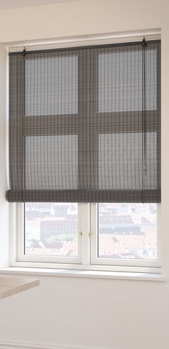 Roller blind bamboo BYRE 100x160 grey