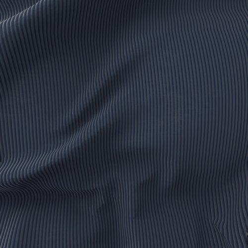 Gordijn TOTAK 1x140x245 corduroy blauw