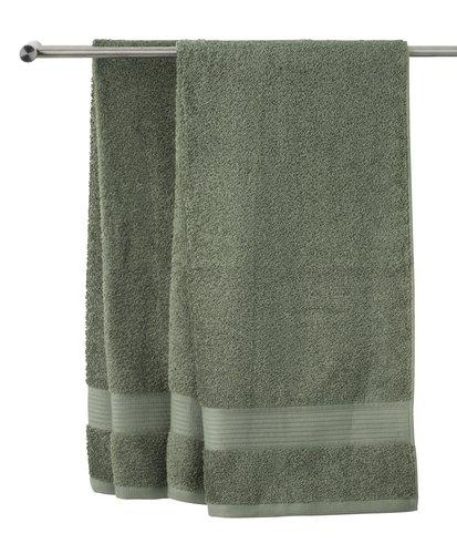 Полотенце KARLSTAD 100x150 см зеленый