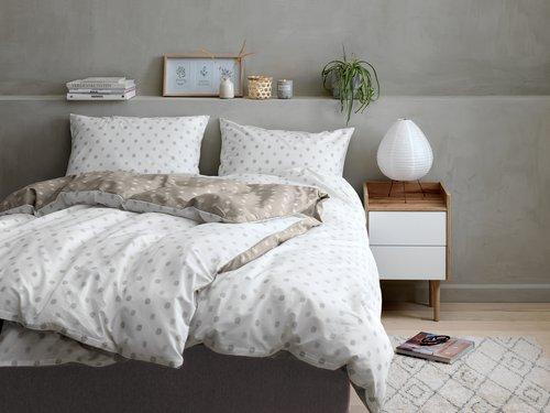 Lenjerie pat+cearsaf BIANA dublă