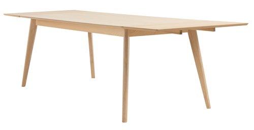 Τραπέζι τραπεζ. KALBY 90x200/290 αν.δρυς