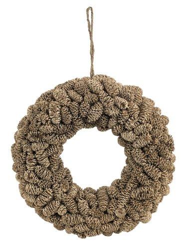 Wreath KRANS D27cm gold