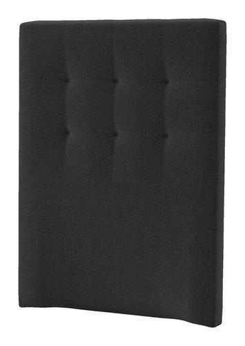 Sänggavel 90x125 H50 STITCHED grå-41