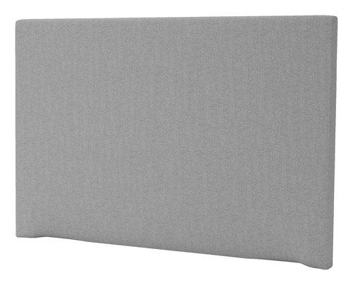 Sengegavl H20 PLAIN 180x125 grå-31