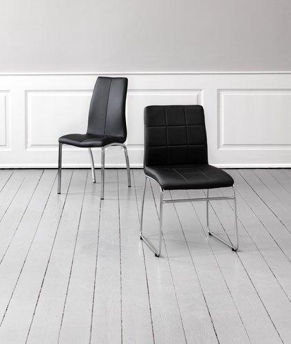 Trp. stolica HAMMEL crna/hrom