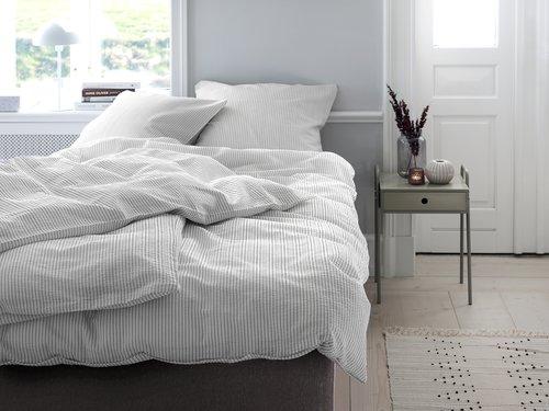 Set posteljine STINNE krep 200x220 bi/si