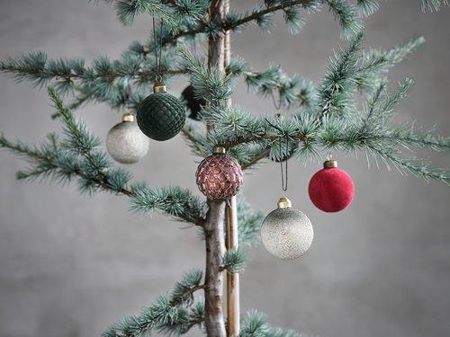 Božićne kuglice KARNEOL 3 kom/p
