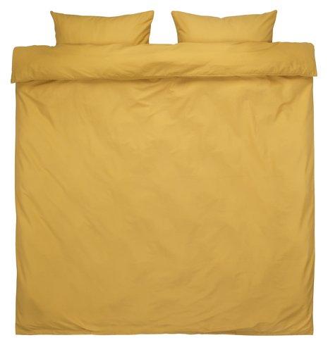 Dekbedovertrek ELLEN 240x220 geel