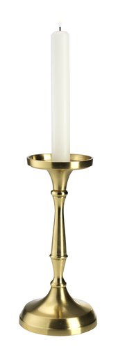Svijećnjak FINNUR Ø10xV21cm brončana