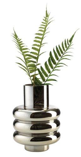 Vase MAGNUS D18xH24cm silver