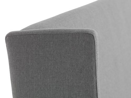 Bedframe KUNGSHAMN 150x200 licht grijs