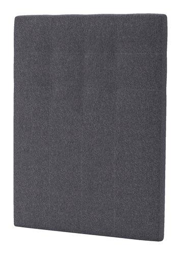 Sengegavl H50 STITCHED 90x125 grå-26