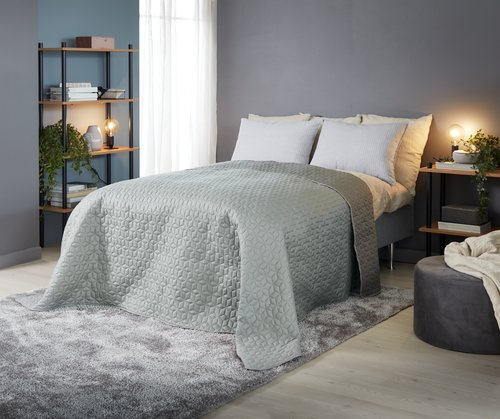 Ryggpute HENGEVING 50x70 grå