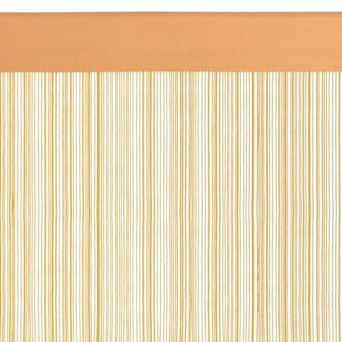 Zavesa iz nitk NISSER 90x300 rumena