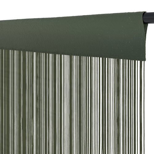 Zasłona sznurk. NISSER 90x300 oliwkowy