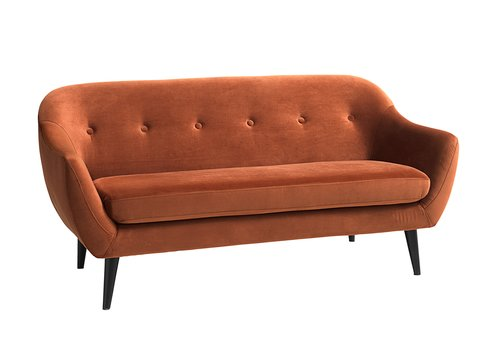 2,5-θέσιος καναπές EGEDAL βελ. πορτοκαλί