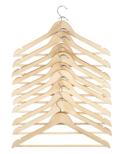 Kleiderbügel SIGFRID Holz 10 Stk/Pck