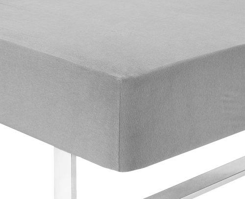 Jersey sheet DBL grey