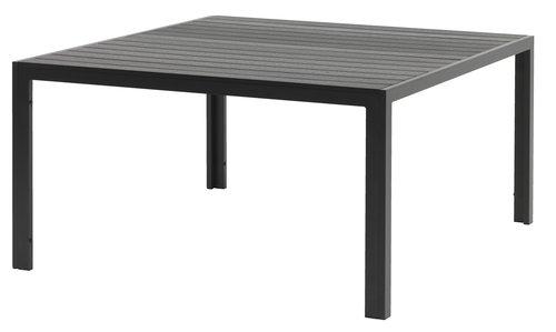 Pöytä JERSORE L140xP140 musta