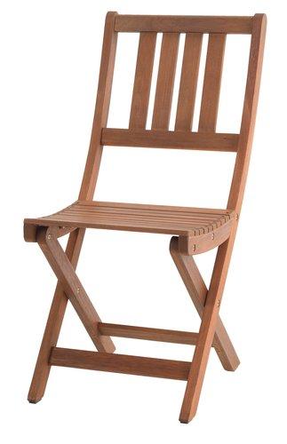 Scaun pliabil VEN lemn de esență tare