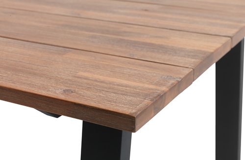 Table PADHOLM W100xL220 hardwood