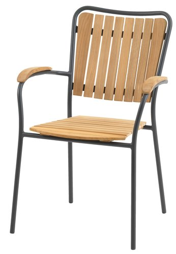 Chaise empilable ESKILDSTRUP teak