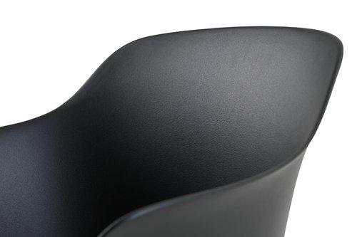 Stolica SANDVED crna