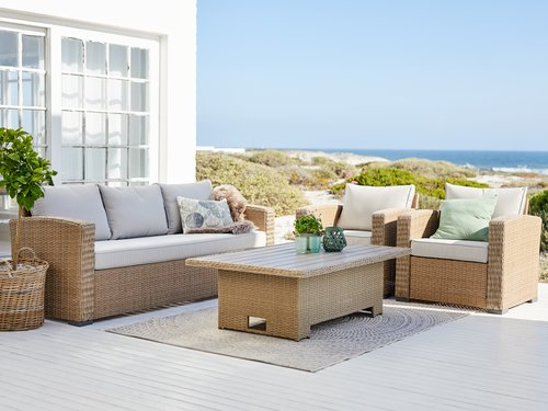 Lounge set VEMB 5 pers. nature