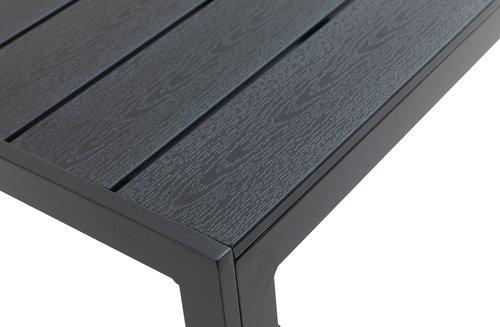 Stół JERSORE S140xD140 czarny