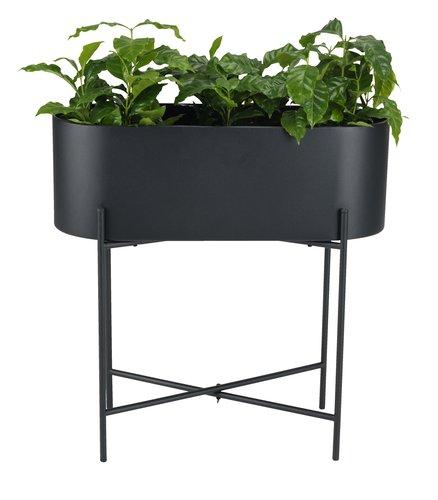 Plantenbak SIMMA B23xL60xH58 zwart