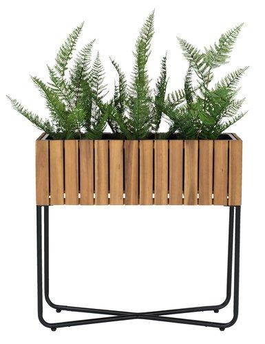 Suport jardin. ENGHAUK 62x22x60 cm lemn
