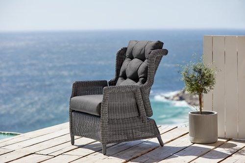 Chaise inclinable FALKENBERG gris