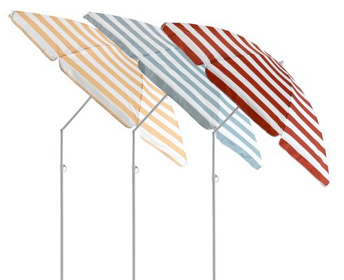 Parasol KATTEGAT Ø180 streep assorti