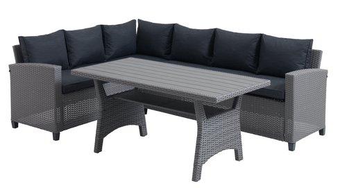 Lounge set ULLEHUSE 6 pers. grey