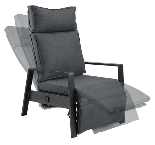 Relaxsessel VONGE schwarz