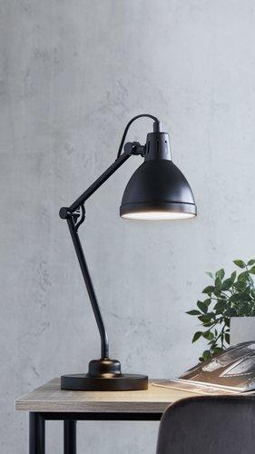 Настольная лампа PATRIK В45см черный