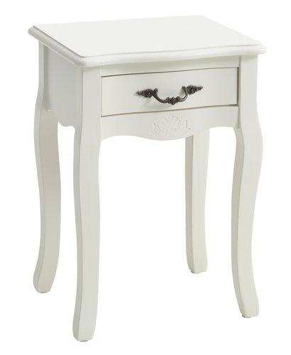 Нощно шкафче STENLILLE с 1 чекмедже бяло
