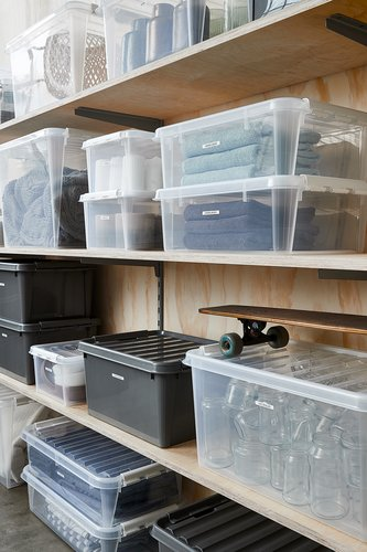 Storage box SMARTSTORE 31 w/lid recycled